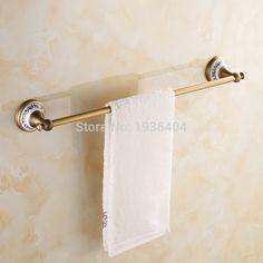 21.87$  Buy here - http://alizoj.shopchina.info/1/go.php?t=32539052628 - Wholesale Retail Antique Bronze Towel Bar with Porcelain Single Towel Rack Wall Mounte Bathroom Towel Shelf TR1008  #magazineonlinewebsite