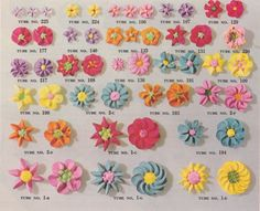www.facebook.com/cakecoachline - sharing...Different Flowers with Different Nozzles