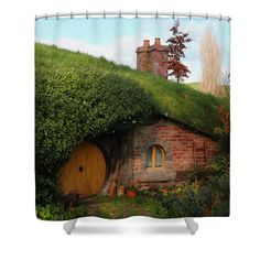 Hobbit Shower Curtain Lord Of The Rings Home by xOnceUponADesignx