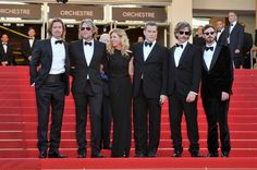 Killing Them Softly - Scoot McNairy, Brad Pitt, Ray Liotta, Ben Mendelssohn, Dede Gardner and director Andrew Dominik attend the Premiere during the 65th Annual Cannes Film Festival at Palais des Festivals. May 22, 2012