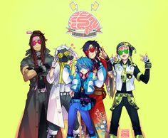 DRAMAtical Murder - Five Guys by marburusu