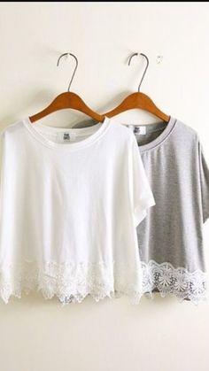 Cute laced shirts