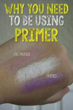 Why you should be using eye primer! Enough said!