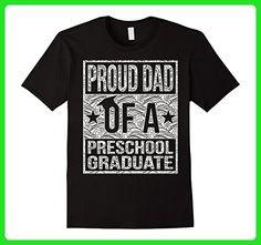 Mens Proud Dad of a Preschool Graduate shirt Medium Black - Relatives and family shirts (*Amazon Partner-Link)
