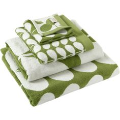 Orla Kiely Stem Jacquard Towel - Apple - Bath Sheet ($51) ❤ liked on Polyvore featuring home, bed & bath, bath, bath towels, green, green bath towels, orla kiely, green hand towels and jacquard bath towels