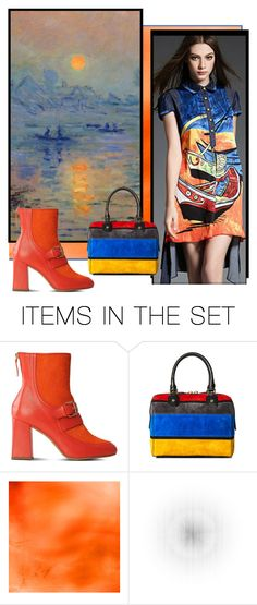 """""""Monet & Fashion"""" by beleev ❤ liked on Polyvore featuring art and monet"""