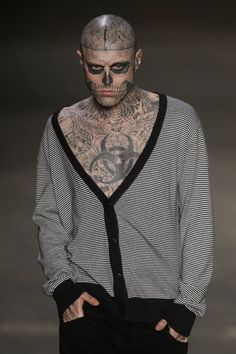 133 Best Rico The Zombie Images In 2015 Rick Genest Skulls Tatoos