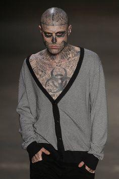 Rick Genest- Zombie Boy.