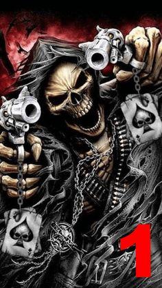 Ghost Rider Wallpaper, Scary Wallpaper, Skull Wallpaper, Hipster Wallpaper, Totenkopf Tattoo Mann, Totenkopf Tattoos, Grim Reaper Art, Grim Reaper Tattoo, Tattoo Ideas