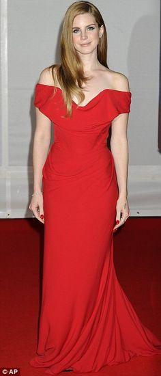 Brit Pick #1 - Lana Del Ray in Vivienne Westwood. Swoon...