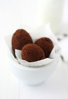 Brownie en cáscara de huevo