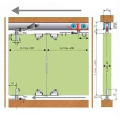 SISTEM GLISARE MEPA MKK-2A 40 KG Floor Plans, Floor Plan Drawing, House Floor Plans