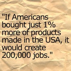 Motivated to buy American Made