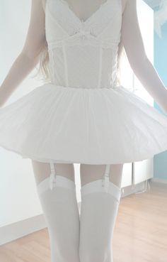 Lingerie ballet. Or bordello ballerina. Both sound cool.