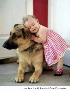 Compassion starts early in life ... OK. If your heart doesn't melt over this, you don't HAVE one ... a heart that is.