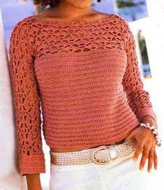 Jersey corto en color rosa palo