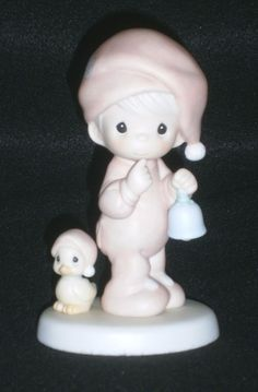 Precious Moments Figurine A Special Chime For Jesus #524468