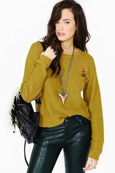 Cheap Monday Pagoda Sweater
