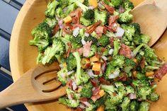 Broccoli Salad.....I Love broccoli salad
