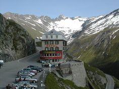 Belvedere Hotel and Restaurant - Furka Pass - Switzerland