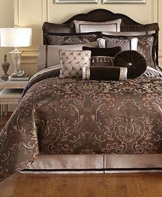 Waterford Bedding, Lansing Collection - Bedding Collections - Bed & Bath - Macy's