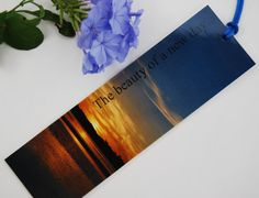 Bookmark  a new day  sunrise by NewCreatioNZ on Etsy, $5.00