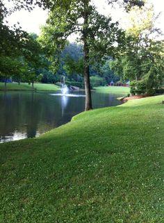 Walking park, Lenoir NC