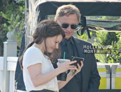 FLASHBACK: ONCE UPON A TIME's RumBelle (Robert Carlyle and Emilie de Ravin) in Storybrooke (Steveston) | Hollywood North