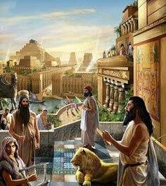 Construções Luxuosas da Babilônia