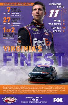 NASCAR Race Mom: Denny Hamlin #NASCAR Virginia's Finest