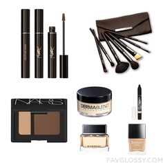 Makeup Post Including Yves Saint Laurent Eye Makeup Slanted Makeup Brush Nars Cosmetics Blush And Dermablend From August 2016 #beauty #makeup