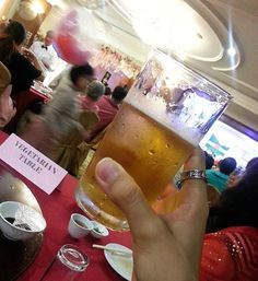 'Toast to a new bride n groom.. wish to have a happy n blast wedding.. cheers.. a glass is a must.. yam shing.. #toast #cheers #bride #groom #happy #blast #wedding #beer #敬酒 #food #foodie #foodies #ilovefood #foodporn #foodlover #instafood #instafoodie #foodgasm #foods #forlittletummy #likeforlike #like4like #l4l #followforfollow #follow4follow #blessed #1106 #2017❤️' by @smallkiss91.  #bridesmaid #невеста #parties #catering #venues #entertainment #eventstyling #bridalmakeup #couture…