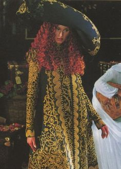 seaborder:  John Galliano for Christian Dior Fall Winter 1998 Haute Couture