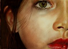 Amazing drawing with coloured pencils by self taught artist Brian Scott from UK.