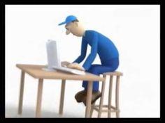 Ergonomia en el Trabajo - YouTube