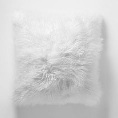 Mongolian Lamb Pillow Cover | west elm