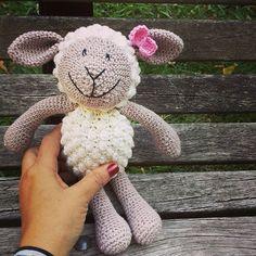 cattaryna crochet sheep