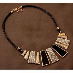 Statement Necklaces & Pendants Collier Women Boho Colar Vintage Maxi Accessories Jewelry Collar