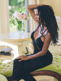 Loc'ed & Lovely: Star of Shameless, actress Shanola Hampton for Elite Magazine (Oct/Nov 2015)