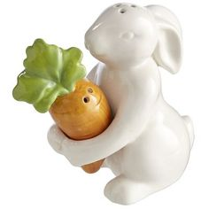 Pier 1 - I need these bunny & carrot salt & pepper shakers for Easter!! So cute!