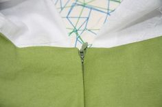 seamstress: poppykettle: 101: Invisible zips with facings or linings