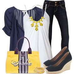 A fashion look from May 2013 featuring Joie blouses, J.Crew sandals y Tory Burch tote bags. Browse and shop related looks.