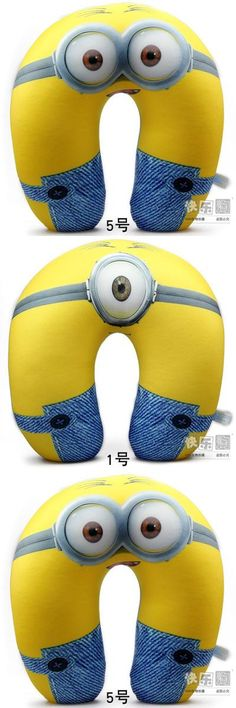 [Visit to Buy] 2015 HOT! New Beautiful Places 30CM Despicable me 2 Minions U Neck Pillow Cushion Foam Particles #Advertisement