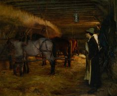 Pascal Dagnan-Bouveret - In the Stable 1883