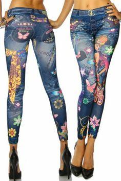 jowiha Sexy Damen Leggings im Flower Power Jeans Look Einheitsgröße XS-M 34 36 38 jowiha, http://www.amazon.de/dp/B00FUI2OJM/ref=cm_sw_r_pi_dp_LDbstb08ZPCAA