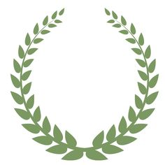 Free Printable Laurel Wreath   How to Make Your Own