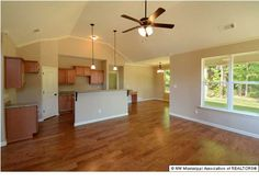 Rivertree Hardwood Floors in Kitchen, Dining and Great Room!  Yeah!