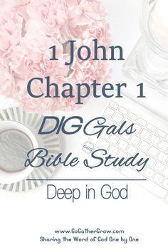 Bible Study   1 John, Chapter 1