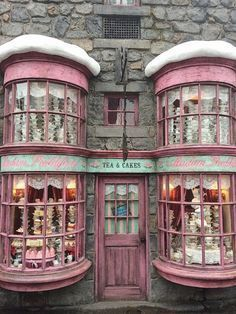 Money, Big Dreams : Champagne Taste on a Beer Budget.Zero Money, Big Dreams : Champagne Taste on a Beer Budget. Champagne Taste, Shop Fronts, Architecture, Windows And Doors, Pretty In Pink, Facade, Beautiful Places, Beautiful London, Harry Potter