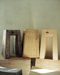Stools and Benches by Fritz Baumann